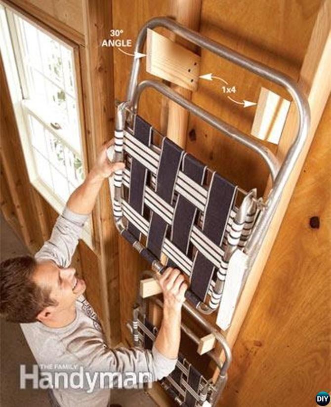 DIY Scrap Wood Brackets-Garage Organization and Storage DIY Ideas