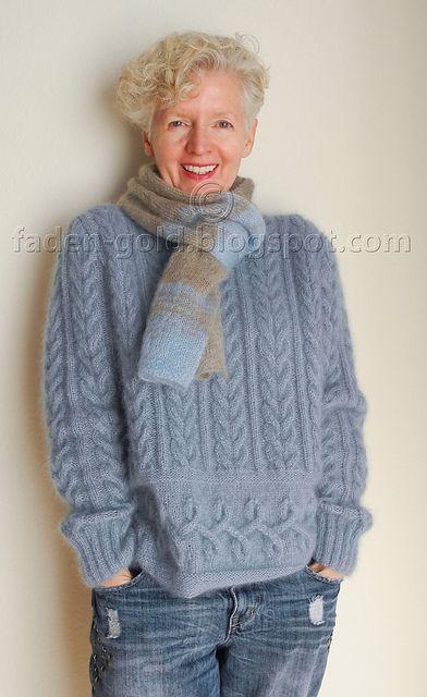 ravelry: # 36 pulli patternlana grossa 50g 250m alpaca 70% silk