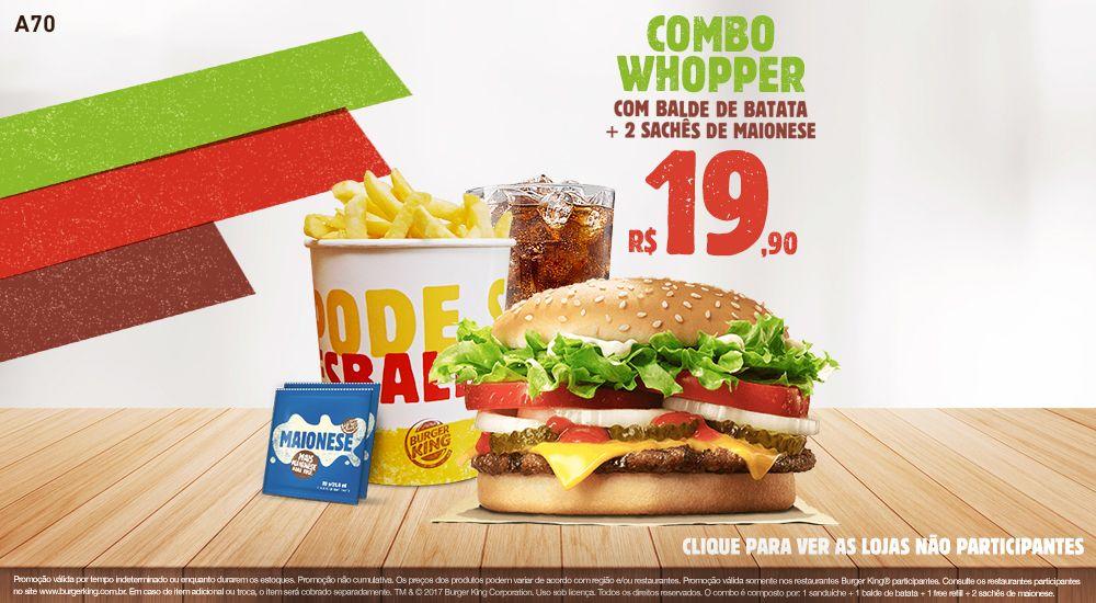 Burger King Cupons E Ofertas Burger King Ideias Burger