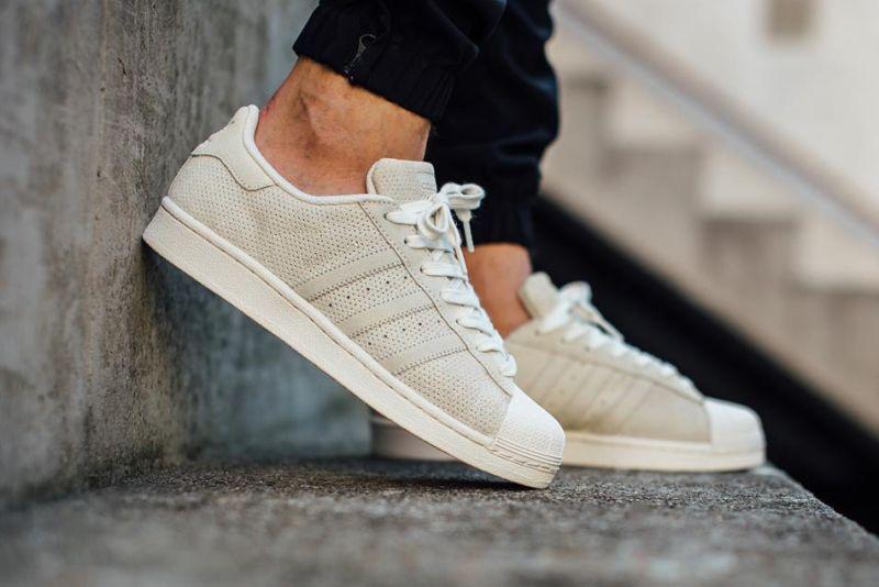 Adidas Superstar Weave White
