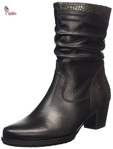 Gabor Shoes Gabor Fashion, Bottes Femme, (87 Schwarz), 42 EU