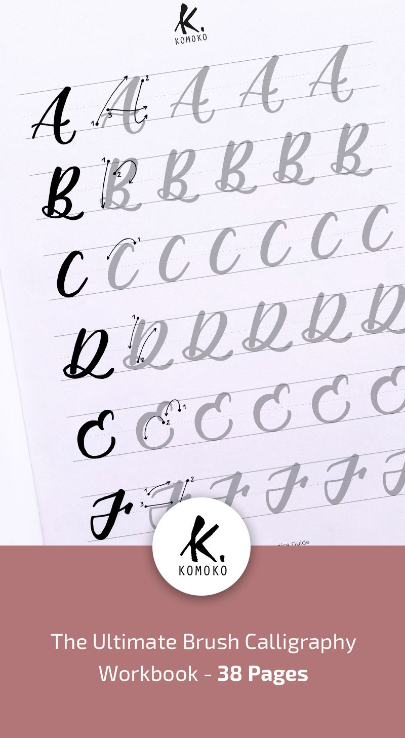 Brush Pen Calligraphy Practice Worksheets Script Lettering Worksheets Modern Calligraphy Instant Download Fo Lettering Lettering Practice Lettering Alphabet [ 1457 x 800 Pixel ]