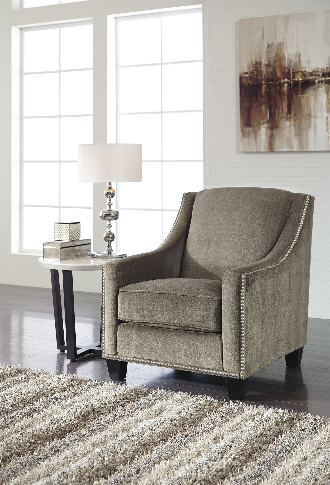 The Donnell Accent Chair By Ashley Furniture 2680021 With Images Ashley Furniture Furniture Cheap Office Chairs