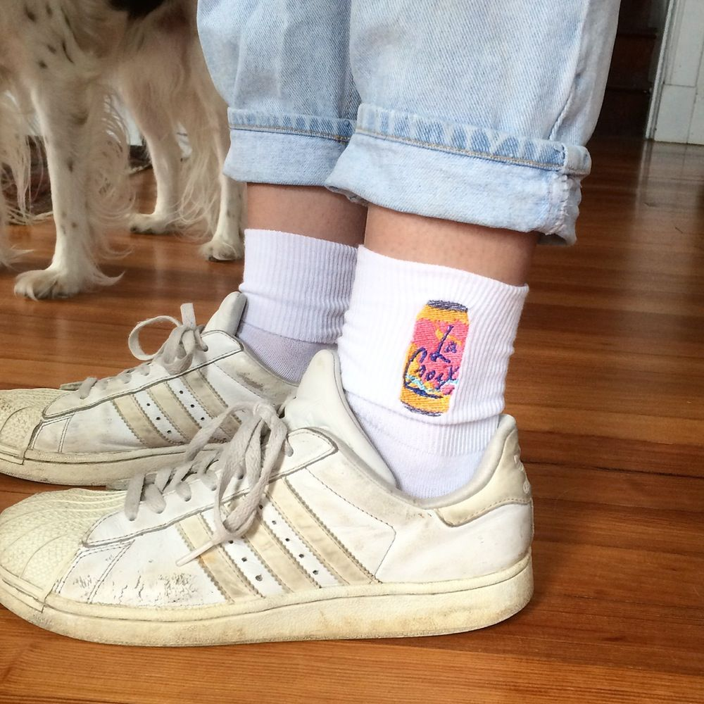 Image of LA CROIX cuff socks | style: summer | Pinterest