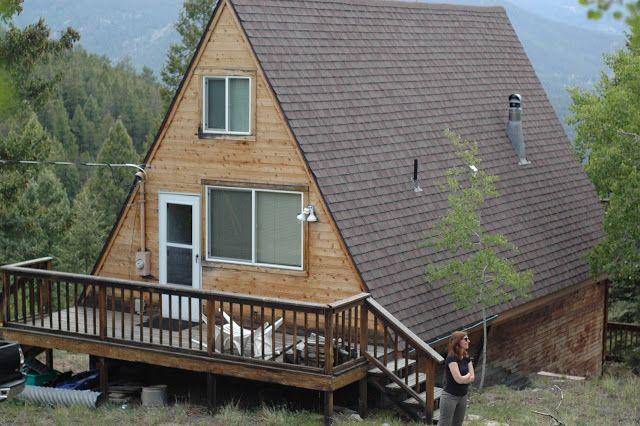 Best Blogging Our A Frame Cabin Remodel Http Valleyviewaframe Blogspot Com A Frame Cabin Diy 400 x 300