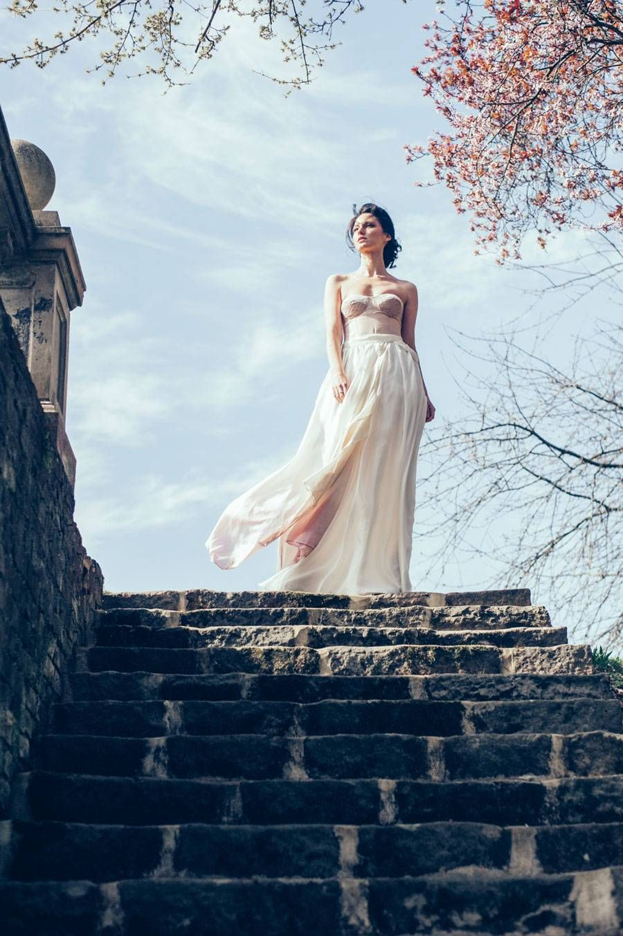 Dreamy wild ombre inspired bridal shoot