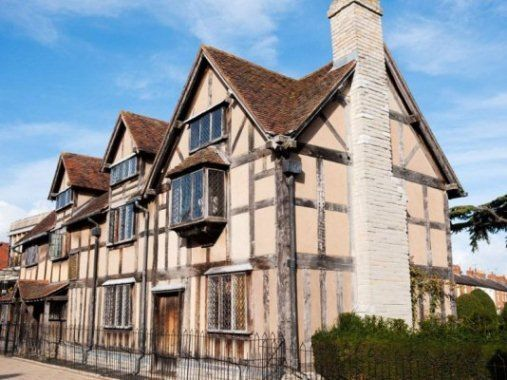 William Shakespeare's home, Stratford-upon-Avon