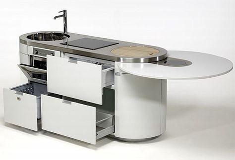 Sorprendete Con Estas Pequenas Cocinas Compactas Y Funcionales Ideales Para Viviendas Con Poco Espacio Http Platzsparende Kuche Kuchen Mobel Kompakte Kuche
