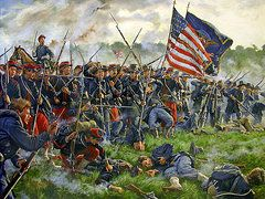 Prints and Posters - The American Soldier: Set 5 | Center ... |American Civil War Battle Paintings