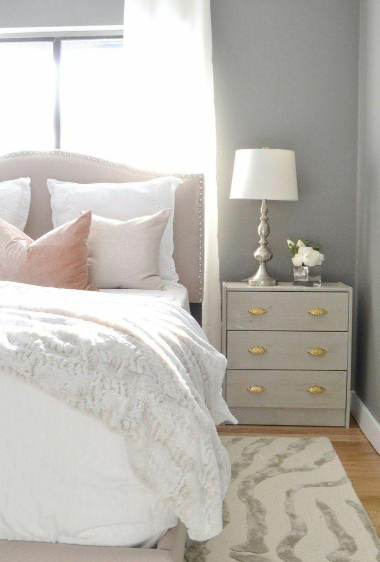 Idée déco chambre adulte : 100 suggestions en blanc | Rose bedroom ...