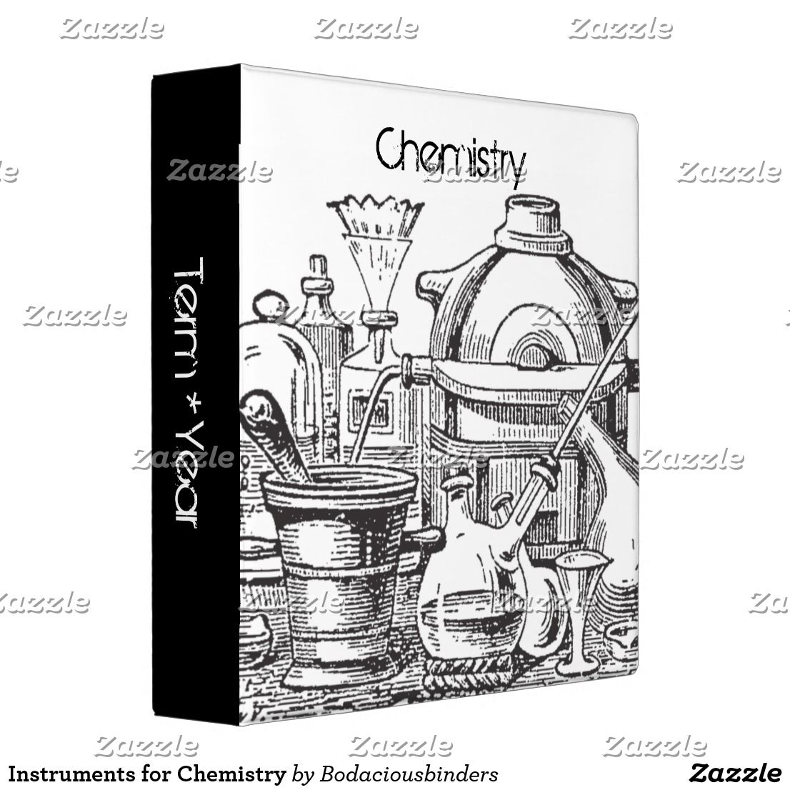 Instruments For Chemistry 3 Ring Binder