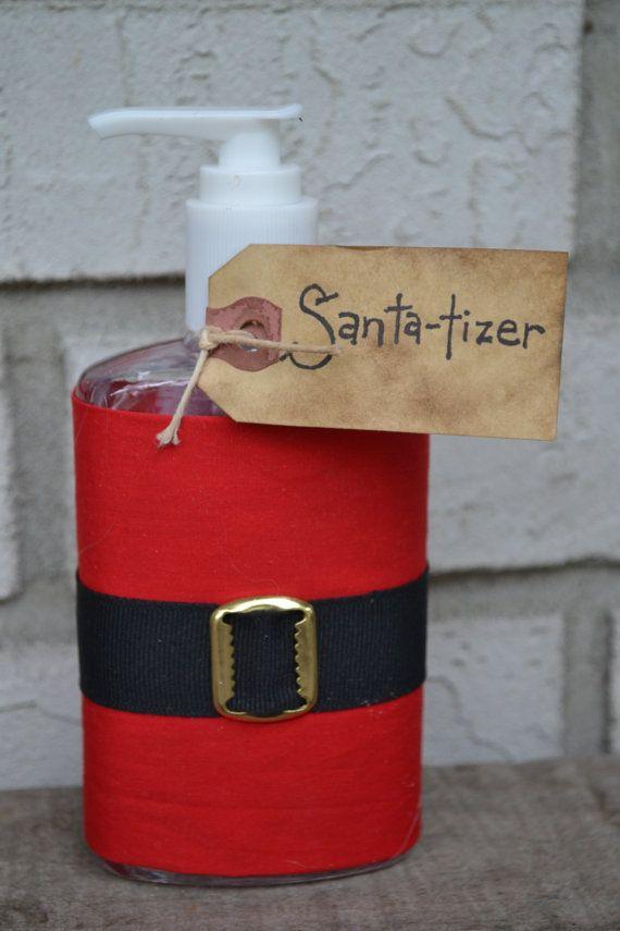 Santatizer Hand Sanitizer By Yallcomebackdecor On Etsy 5 50