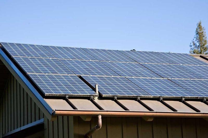 Going Solar At Home Solar Panel Basics Metal Roof Standing Seam Metal Roof Solar Panels