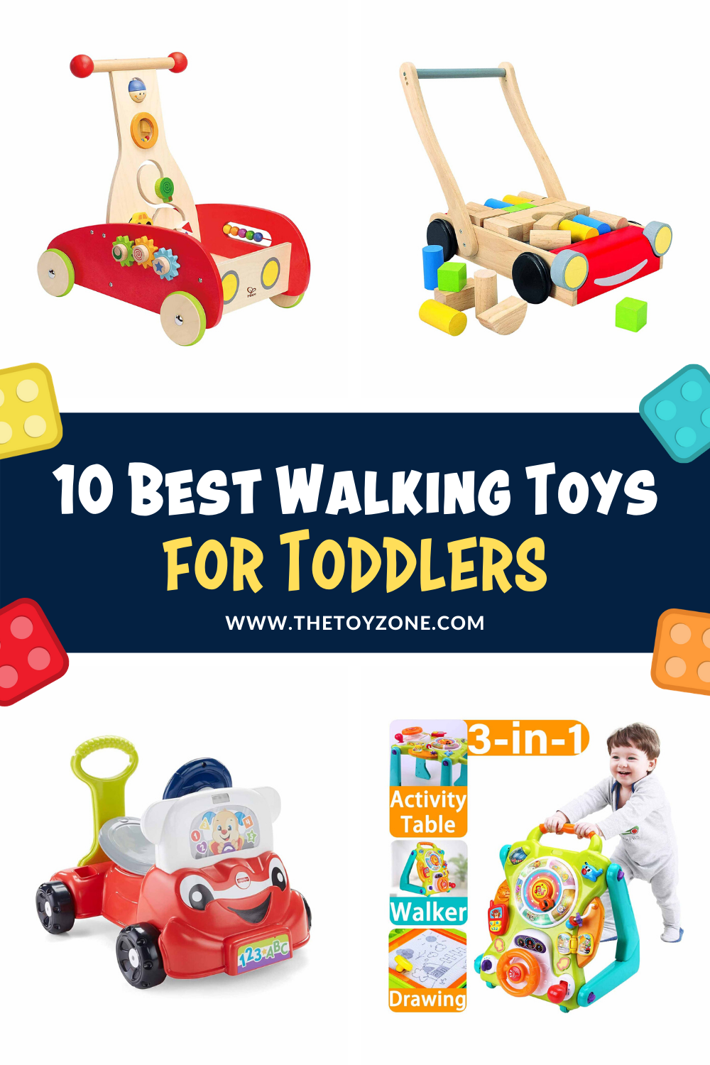 10 Best Walking Toys for Toddlers 2020 - TheToyZone in ...