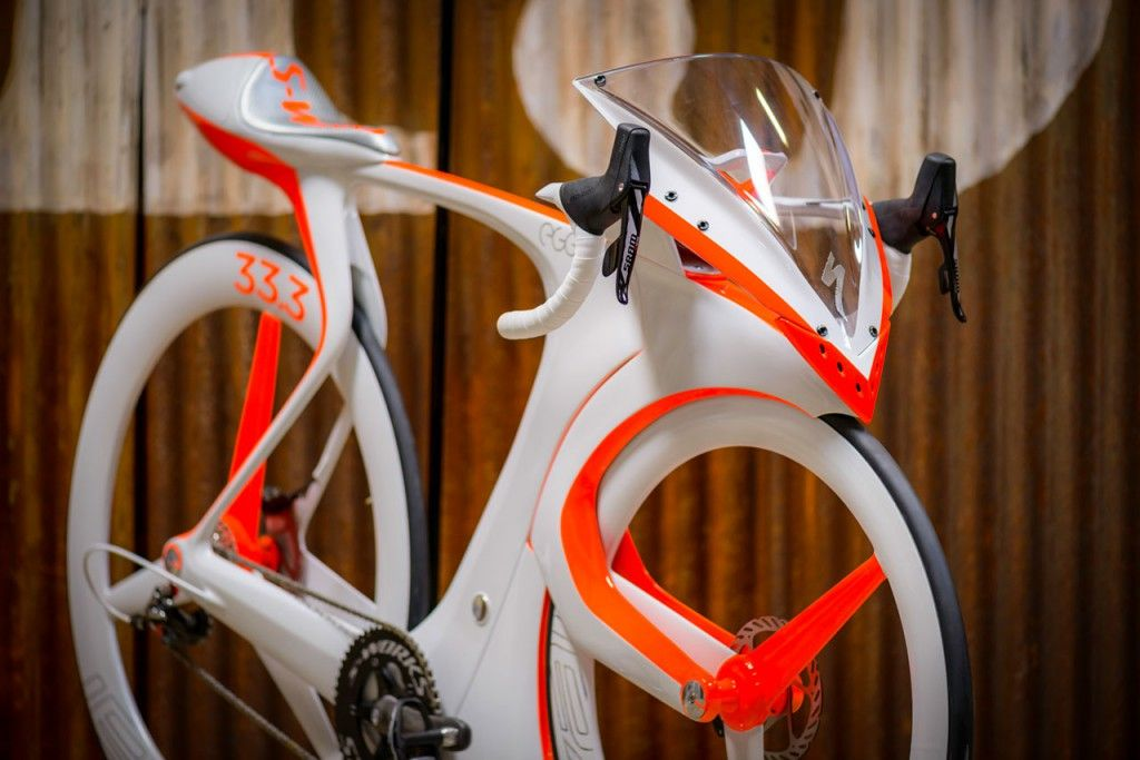 Speed Demon Specialized Concept Bike Breaks All Rules Racing