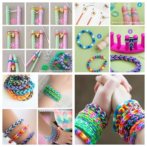 Wonderful Diy Rubber Band Bracelet Rubber Band Bracelets