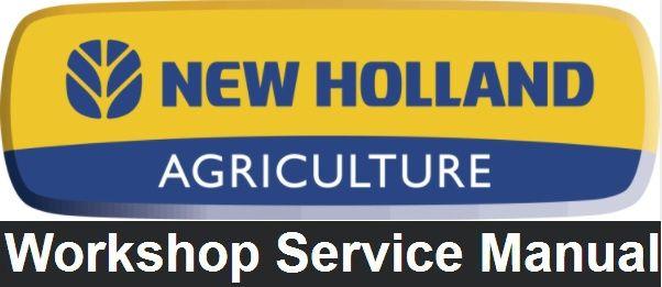 new holland ts90 ts100 ts110 tractors service repair workshop manual