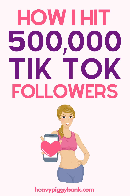 How I Gained 500 000 Tiktok Followers In 2 Months Marketing Strategy Social Media Video Marketing Social Media Advice