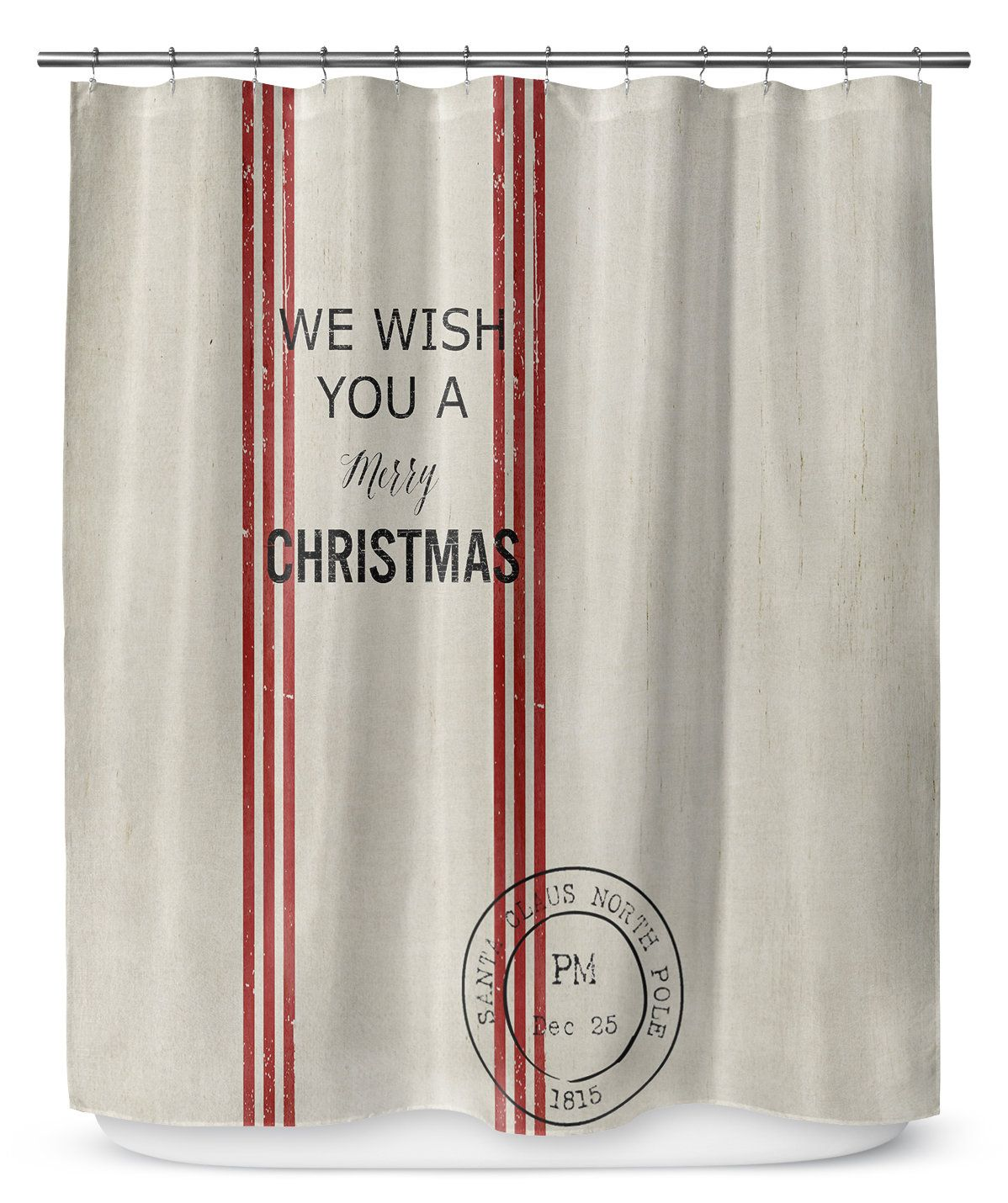 We Wish You A Merry Christmas 90 Shower Curtain Products