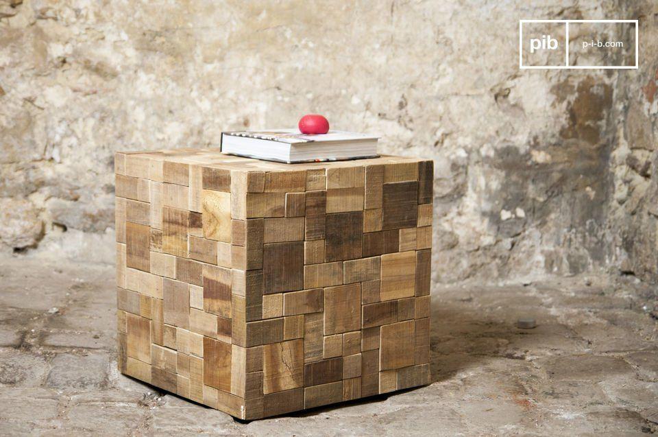 Mobili Con Legno Riciclato : Tavolino rubique eco design legno recuperato