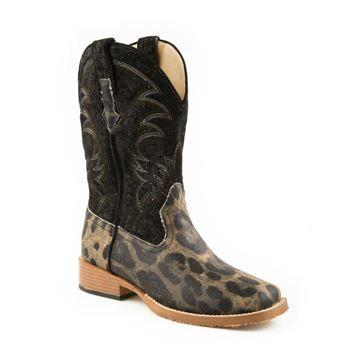 Roper Women's Leopard Print Western Boots
