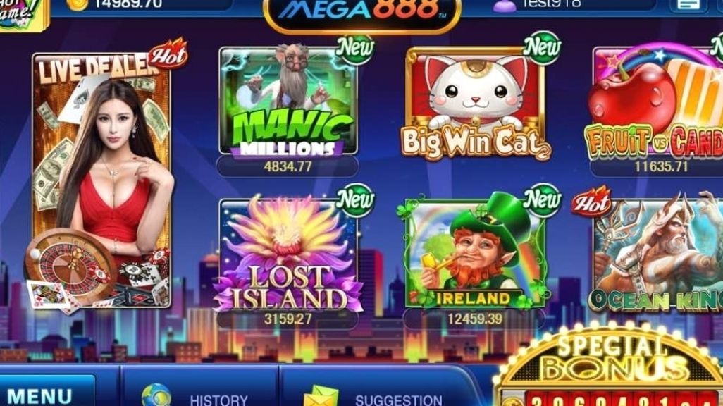 Mega888 Updated Download Apk Ios Trong 2020 Tro Chơi In 2021 Game Download Free Amazon Gift Card Free Free Slot Games