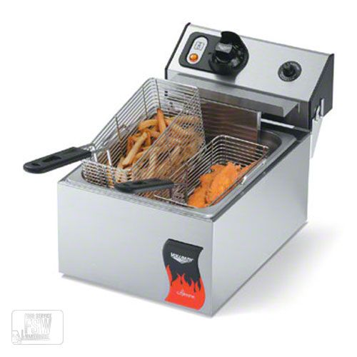Vollrath 10 Lb Standard Duty 120v Electric Countertop Fryer