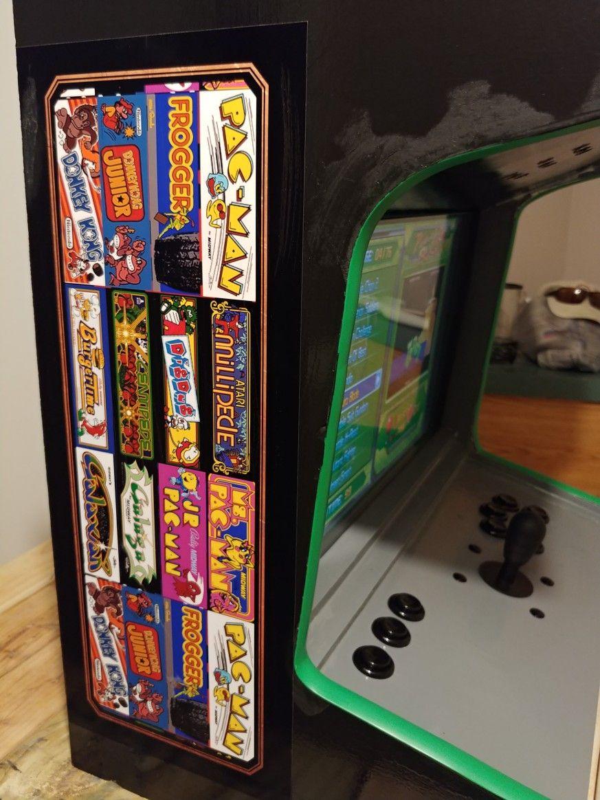 Bartop Arcade build complete | Arcade, Arcade games ...