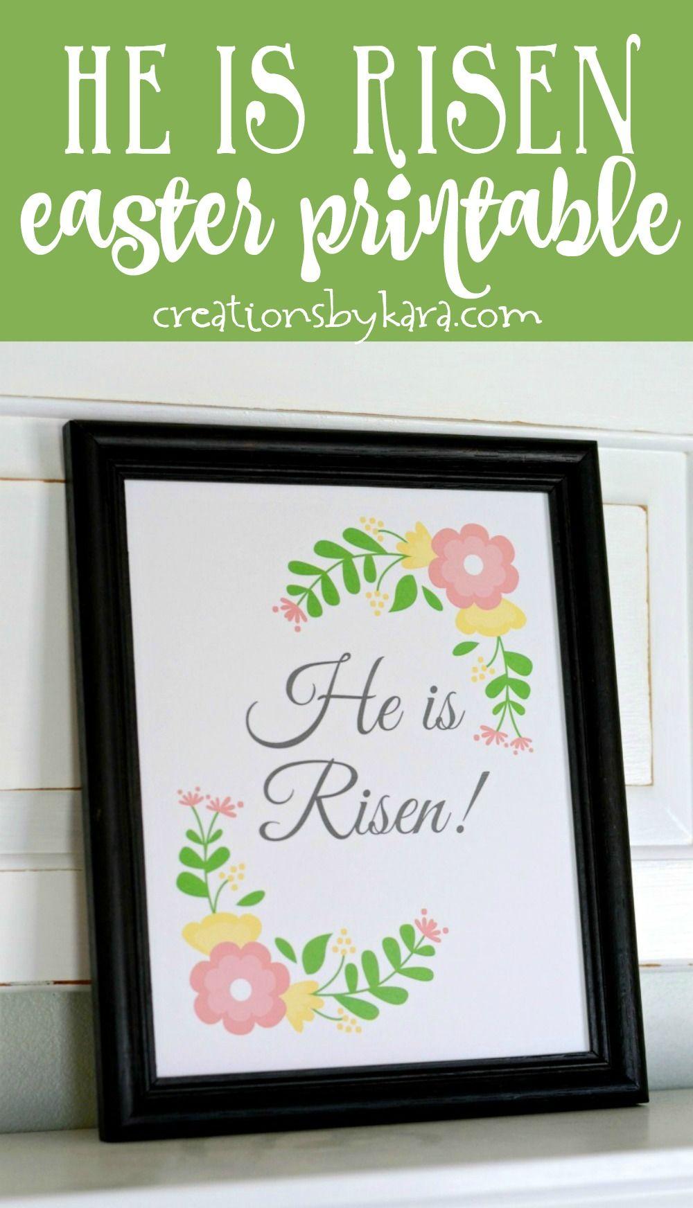 Free printable Easter Egg Resurrection Lesson - Free Easter ...