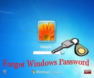 lost windows password windows 7