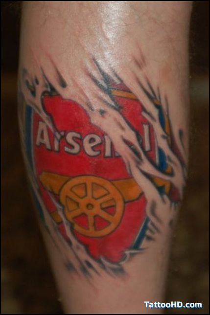 arsenal fan tattoo ideas pinterest arsenal fans and tattoo. Black Bedroom Furniture Sets. Home Design Ideas