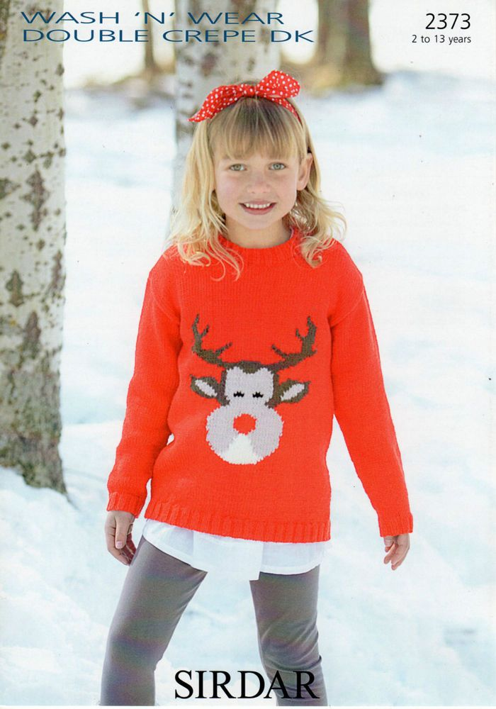 Sirdar Christmas Jumper Knitting Patterns Tillys Wool Shop