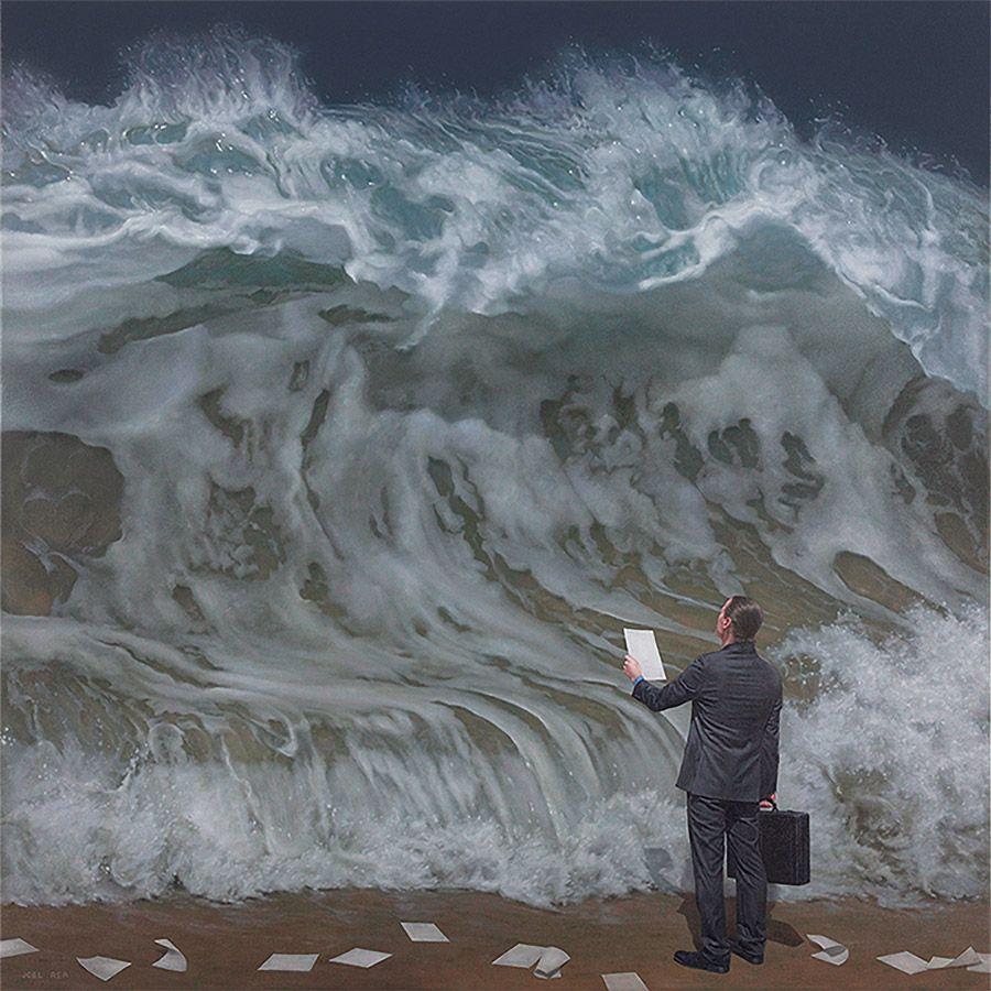 Surreal Paintings by Joel Rea | Define postmodernism, Postmodern art ...