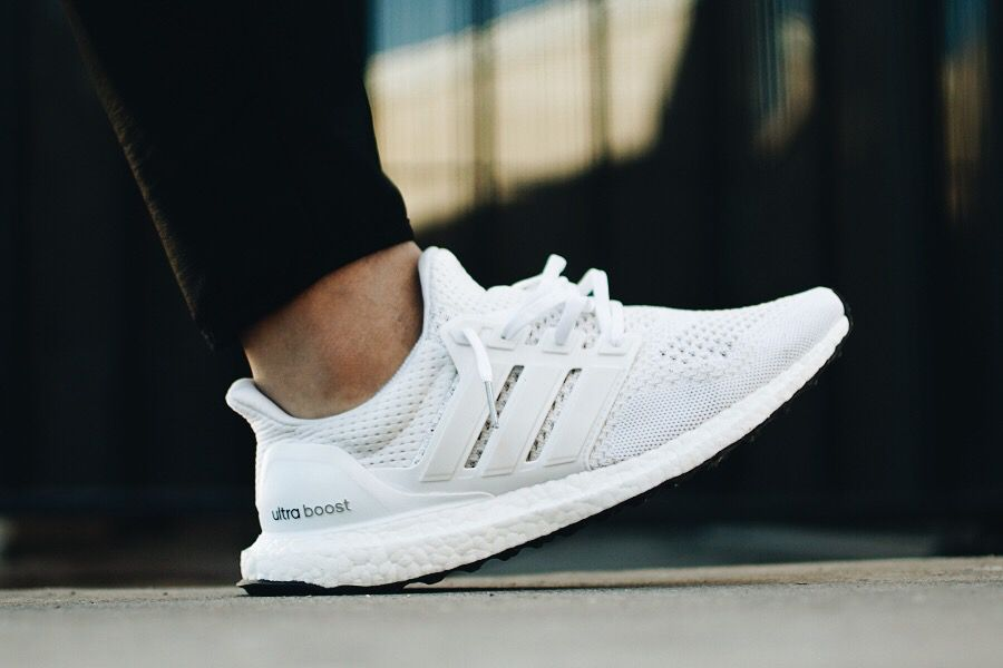 Vogue Adidas Ultra Boost All White For Mens And Womens