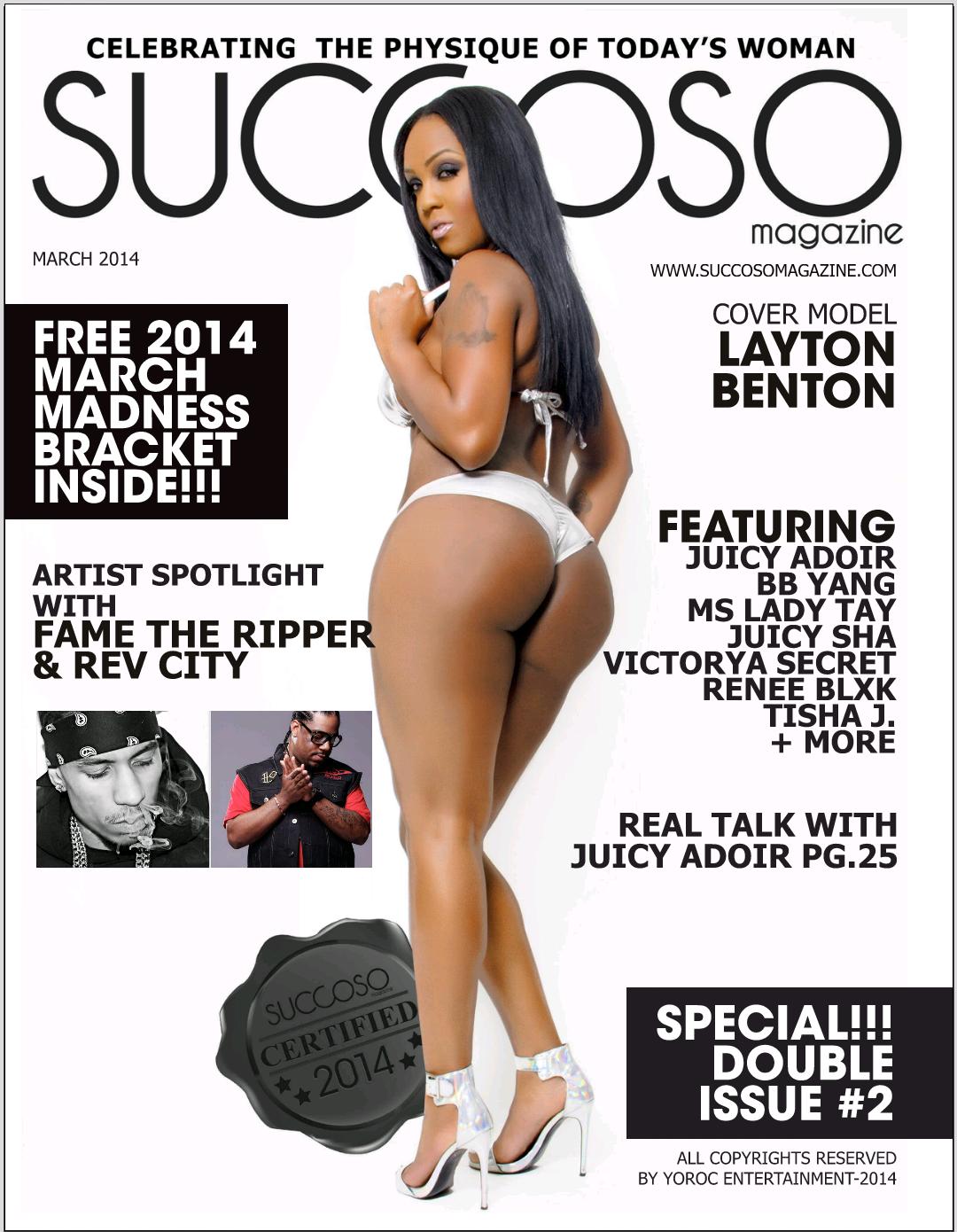 Succoso Magazine Succoso Magazine Double Issue 2 Ft Cover Model Layton Benton Www Succosomagazine Com Succosomagazine Mens Magazine