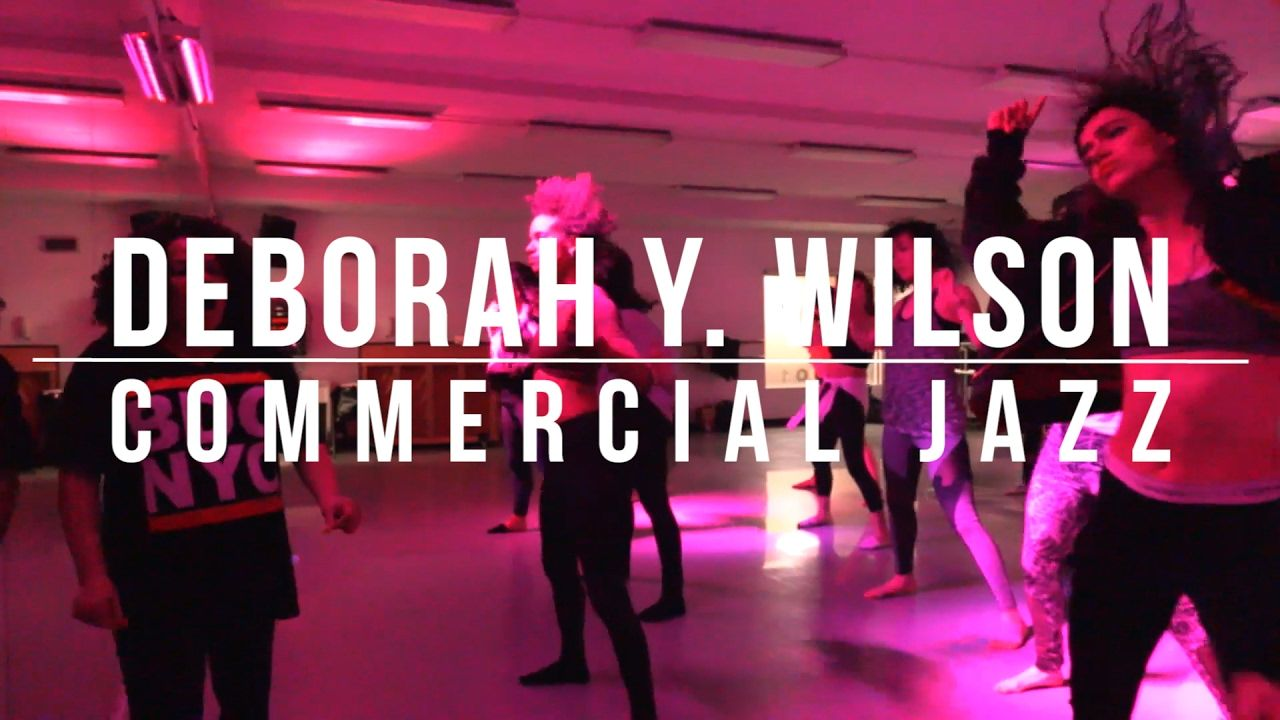 Adv Beg Commercial Jazz with Deborah Wilson
