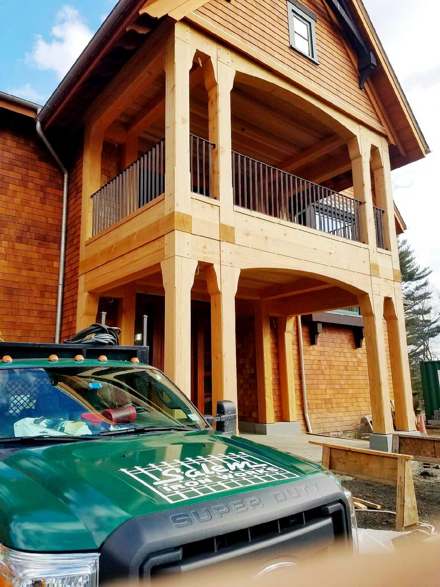 Best 2 Rail Wrought Iron Balcony Railings Iron Balcony House 400 x 300
