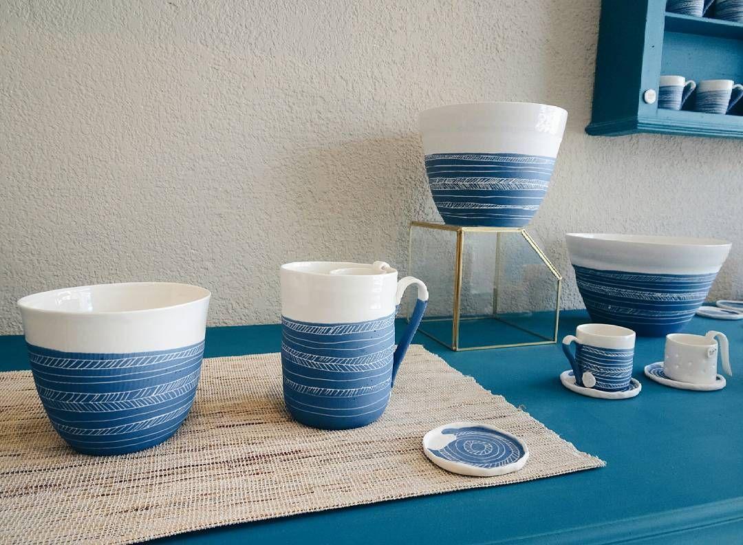 Les Petites Porcelaines vaisselle en porcelaine. collection cobalt les petites porcelaines