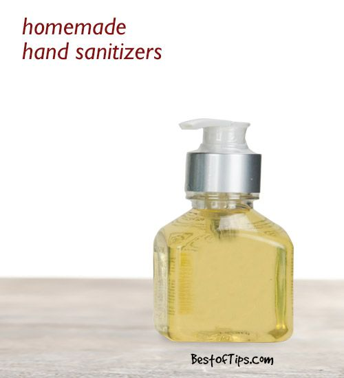 4 Homemade Natural Hand Sanitizers Natural Hand Sanitizer Hand