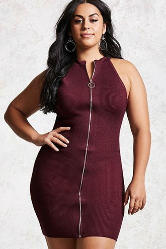 7eea3438951b Plus Size Ribbed Dress. Plus Size Dresses