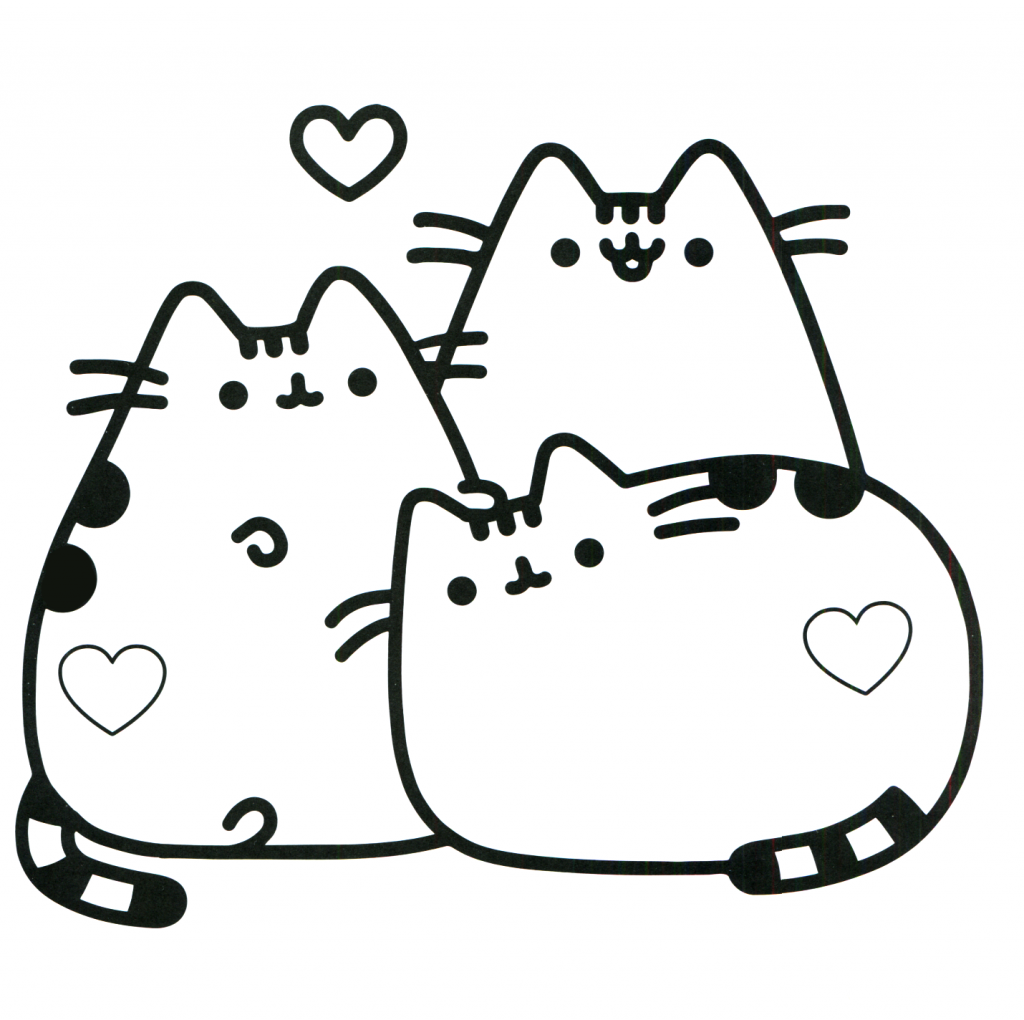Pusheen Coloring Pages Best Coloring Pages For Kids Cute Coloring Pages Cat Coloring Page Pusheen Coloring Pages