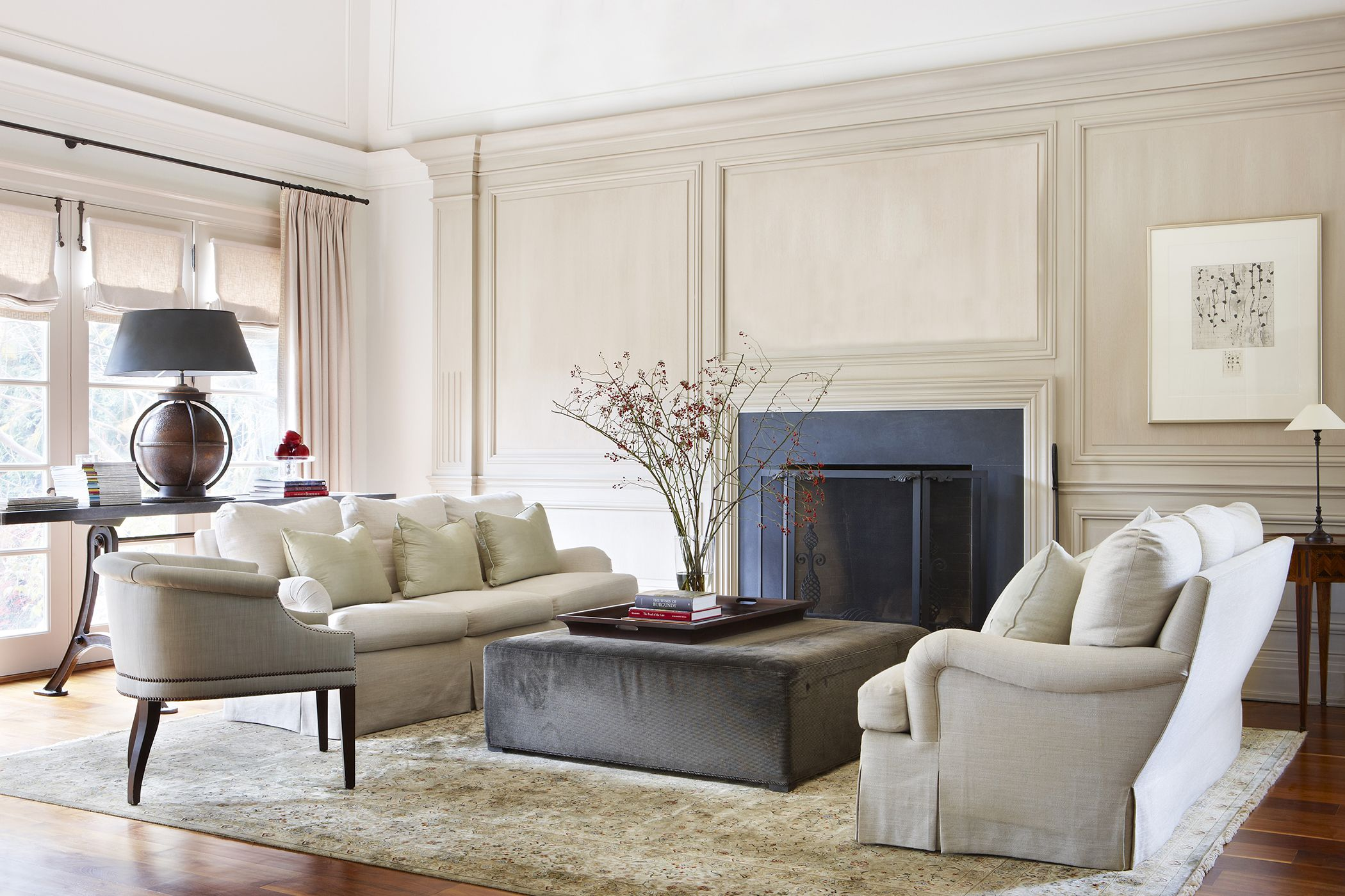 Classic Living Rooms Interior Design Classic Living Roomjulie Charbonneau #makelivinganart