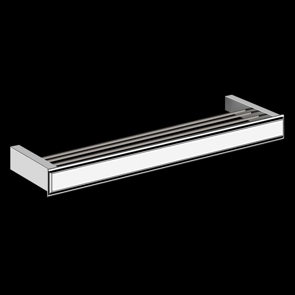 An Art Deco-style tap and accessory collection with a modern twist, Eleganza would sit in harmony within classic or contemporary bathroom surrounds.