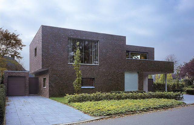 Nice Ten Ideas: Вилла в Алмело (Villa Vide Almelo) в Голландии от Zecc Architects Pictures Gallery