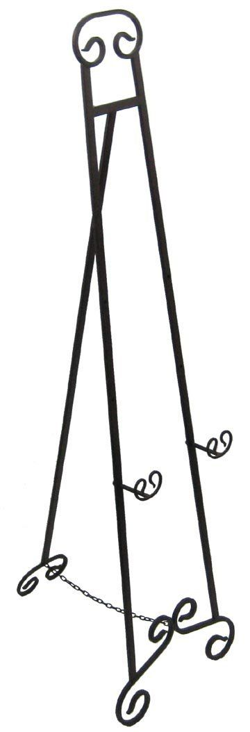 Amazon.com: Large Wrought Iron Art Stand Display Easel