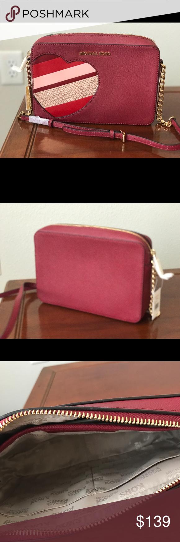 MK red heart Bag NWT   Poshmark   Pinterest   Bags, Mk bags and ... b8462f82e9
