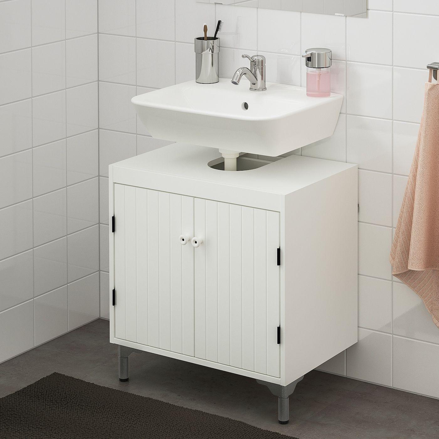 Ikea Silver Aring N Tyngen Waschbeckenunterschrank 2 T Uuml Ren Wei Szlig Lillsvan Mischbatterie In 2020 Waschbeckenunterschrank Unterschrank Mischbatterien