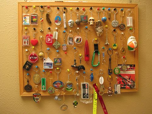 Best Way To Display Keychain Collection Google Search