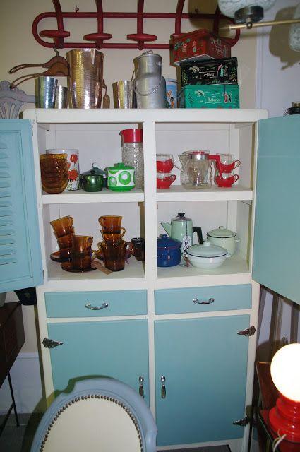 Muebles y objetos vintage reciclado de mobiliario vintage - Cocinas retro anos 50 ...