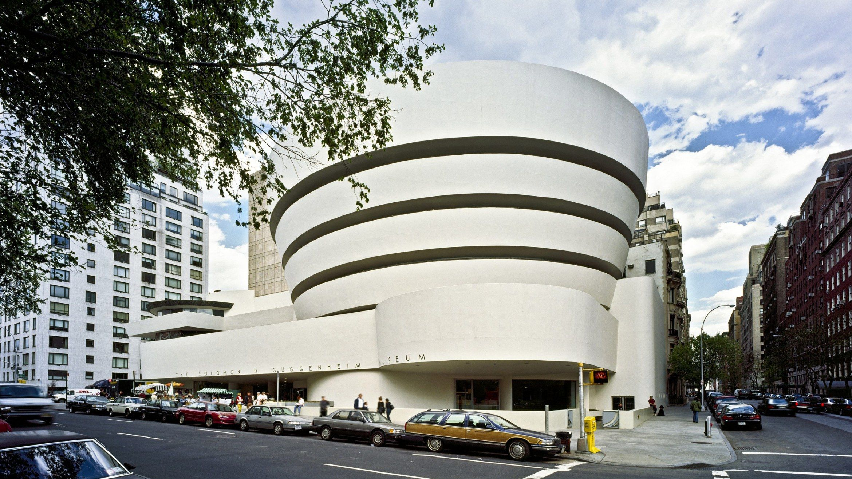 The Solomon R Guggenheim Museum 1071 5th Ave New York Ny 10128 Guggenheim Museum Frank Lloyd Wright Buildings New York Museums